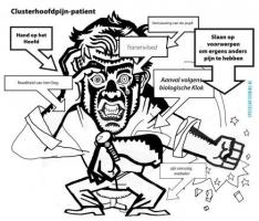 Symptomen van clusterhoofdpijn