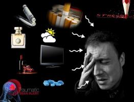 Uitlokkers van clusterhoofdpijn